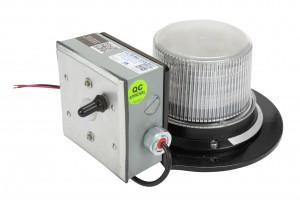 LED Beacon with motion sensor